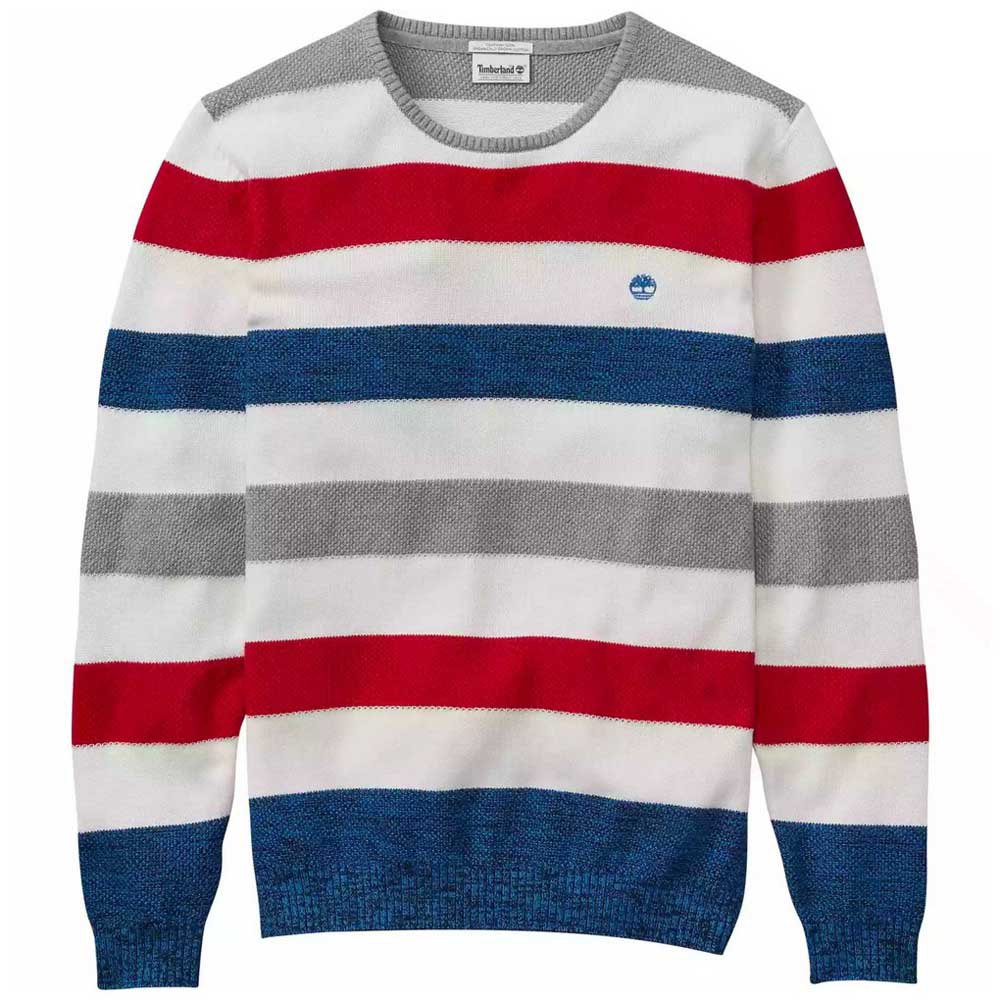 Timberland Bold Striped Sweater L Strong Blue