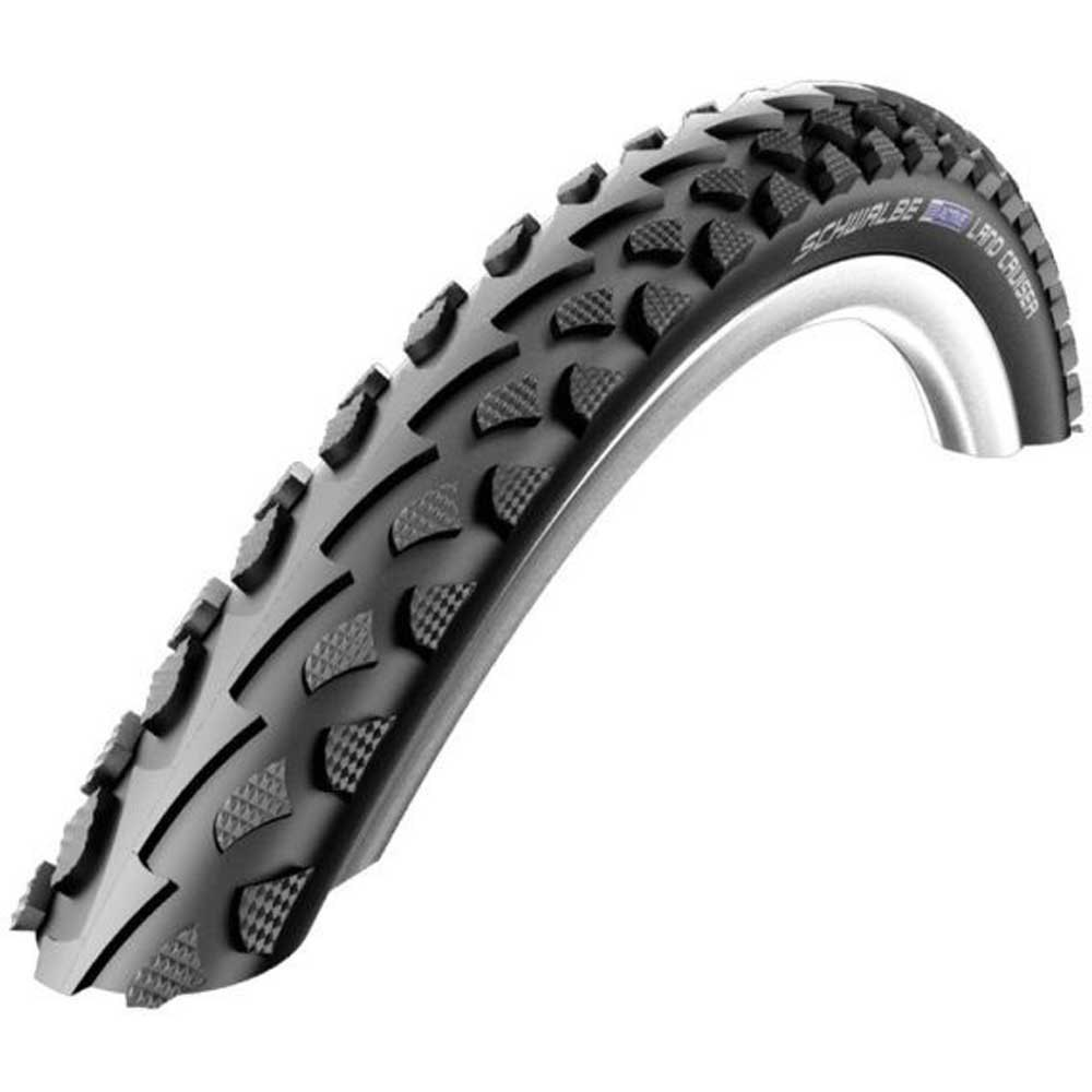 Schwalbe Land Cruiser K-guard Hs450 Twinskin 28´´ Gravel Tyre 28 x 1.60 Black