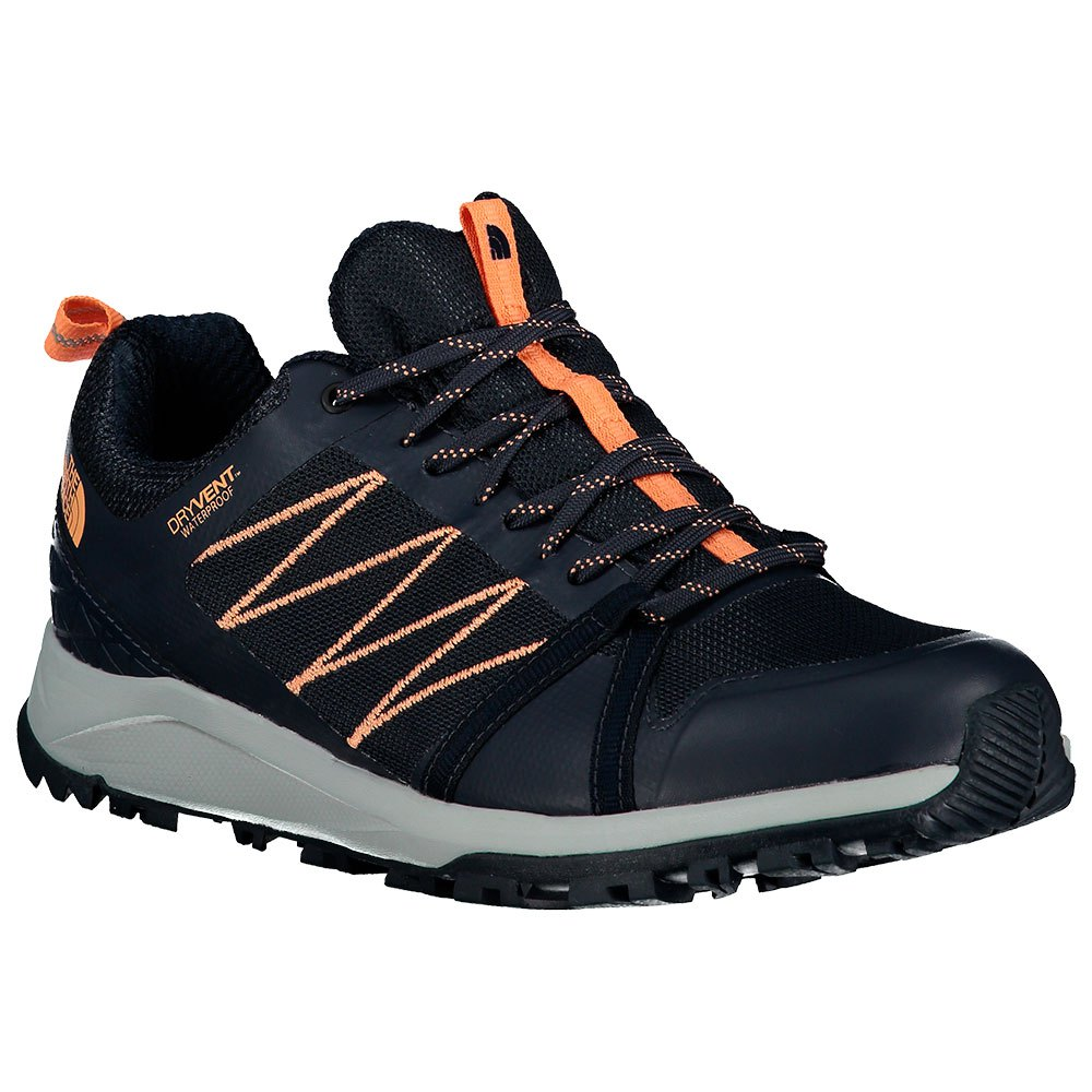 The North Face Zapatillas Senderismo Litewave Fast Pack Ii Wp Urban Navy / Cantaloupe