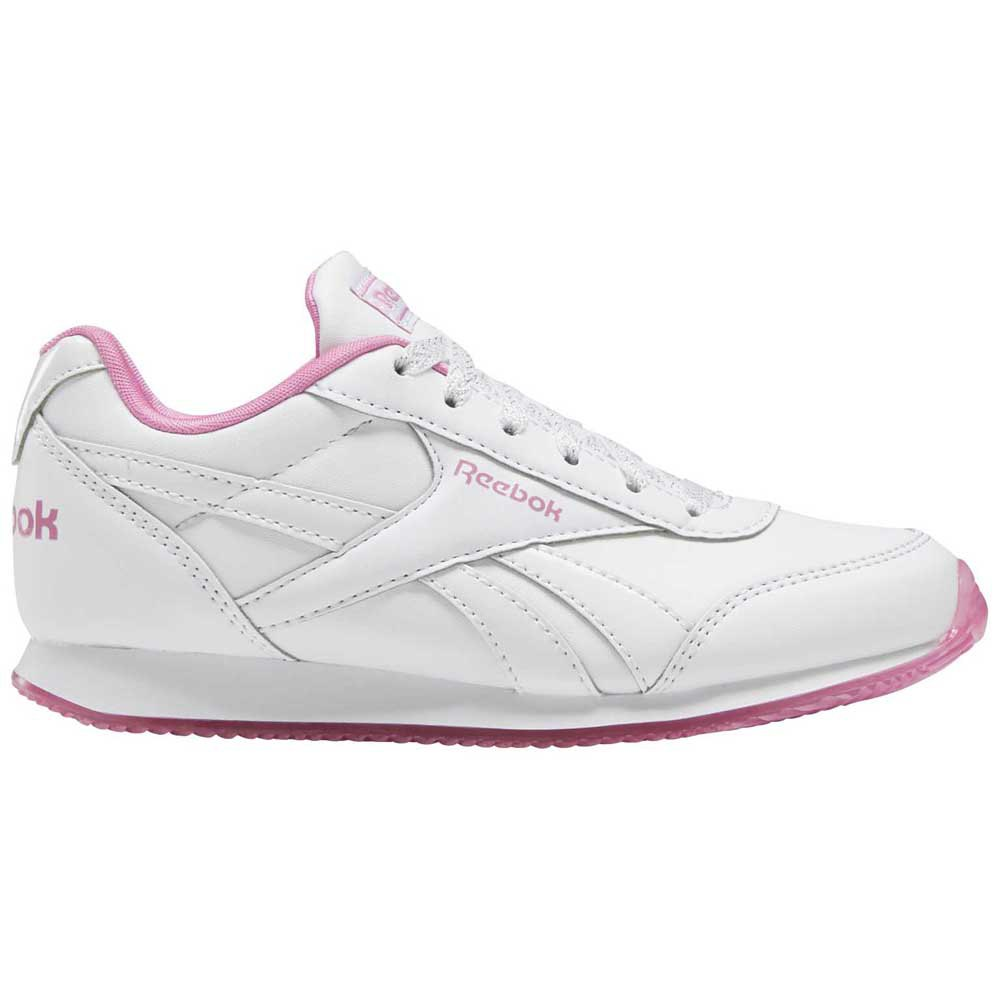 Reebok Royal Classic Jogger 2 Kid EU 31 1/2 White / Posh Pink / None