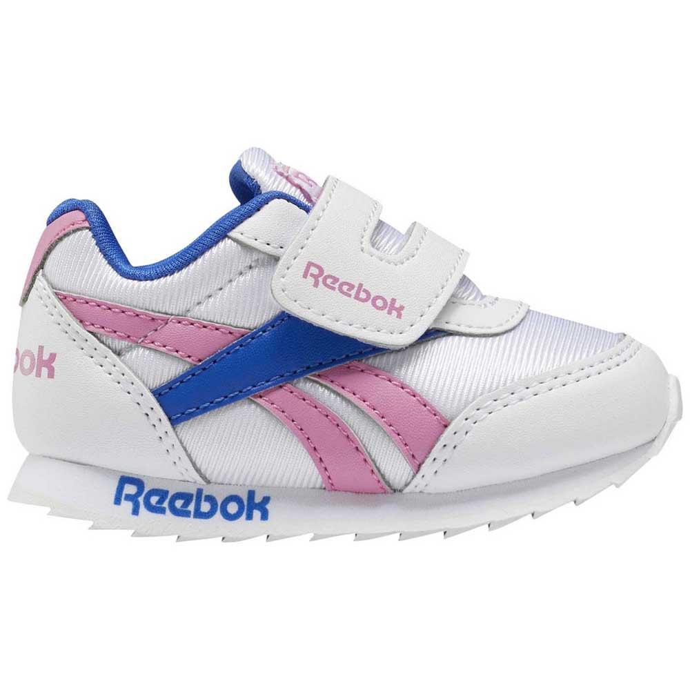 Reebok Royal Classic Jogger 2 Kc Infant EU 24 White / Posh Pink / Humble Blue
