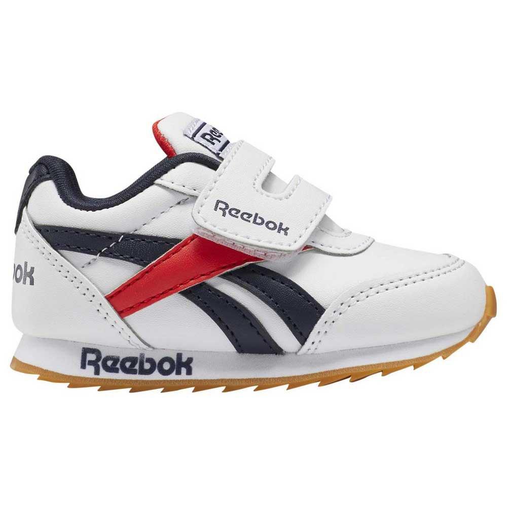 Reebok Royal Classic Jogger 2 Kc Infant EU 19 1/2 White / Collegiate Navy / Radiant Red