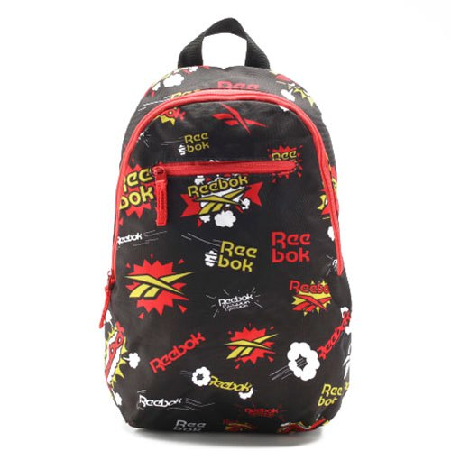Reebok Small All Over Print 10l One Size Black