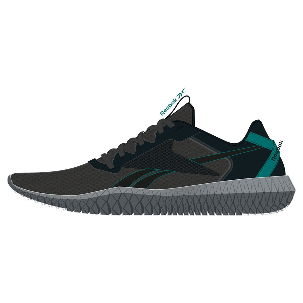 Reebok Flexagon Energy 2.0 Mt EU 42 1/2 Cold Grey 7 / Black / Seaport Teal