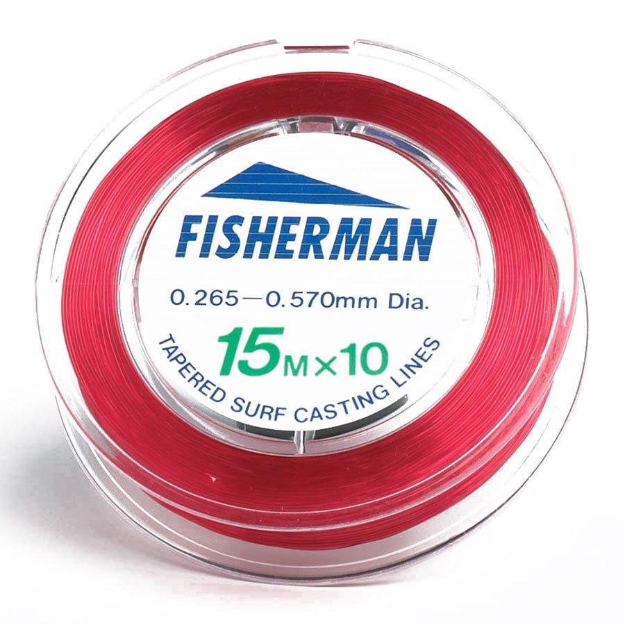 evia-fisherman-surfcasting-leader-10x15-m-0-235-0-57-mm-red