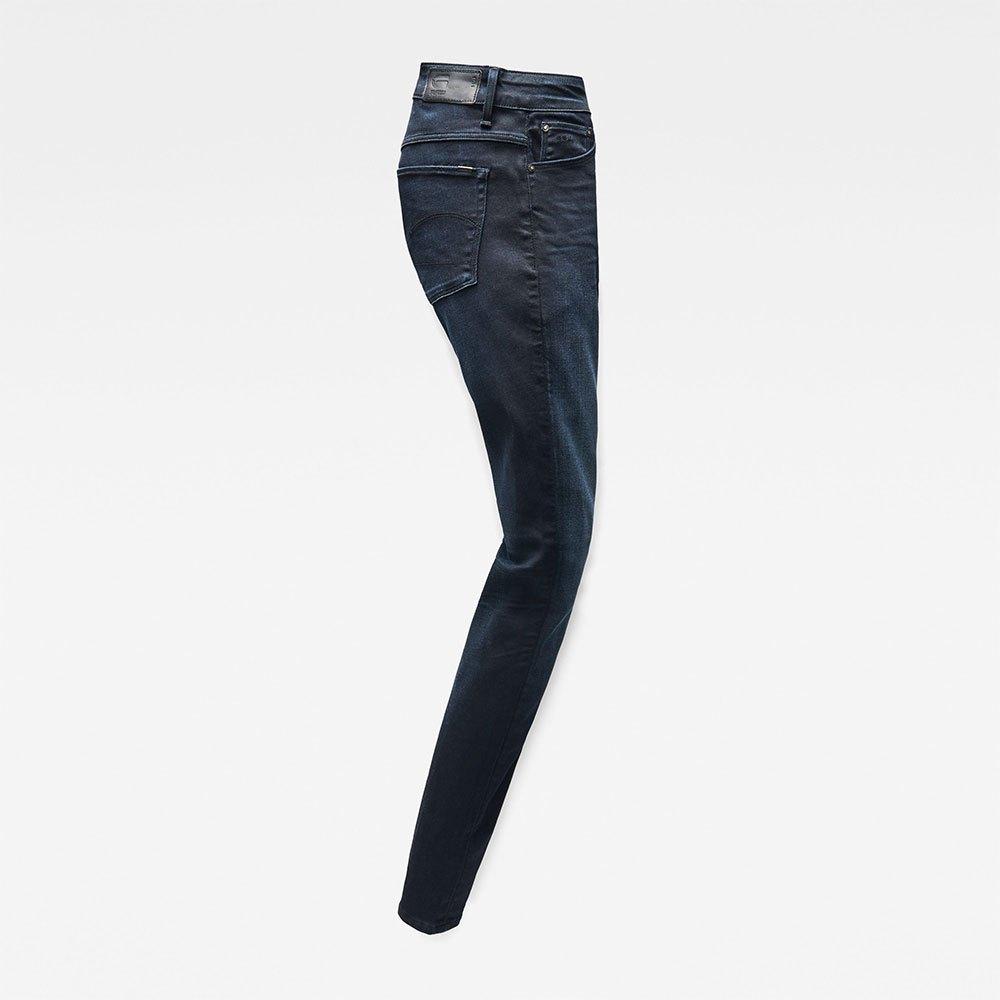 Gstar-3301-High-Skinny-New-Blu-T08094-Pantaloni-Donna-Blu-Pantaloni-Gstar miniatura 11