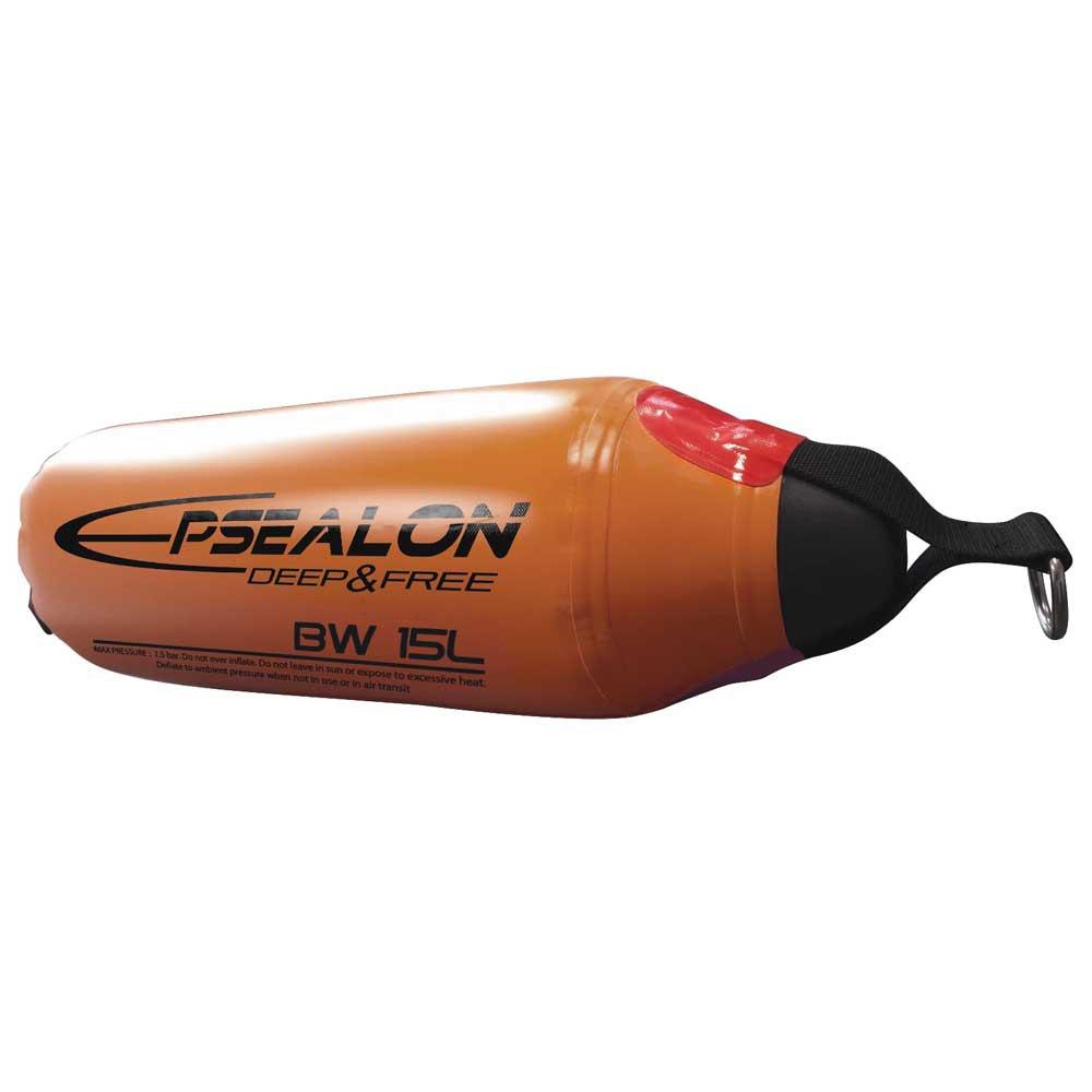 Epsealon Blue Water High Pressure Float 30 Liters Orange Tauchbojen Blue Water High Pressure Float