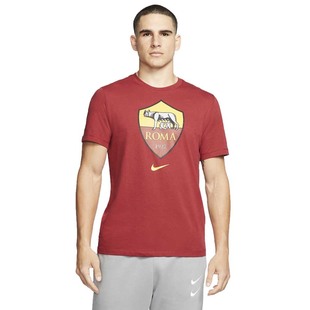 Nike As Roma Evergreen Crest 19/20 L Team Crimson
