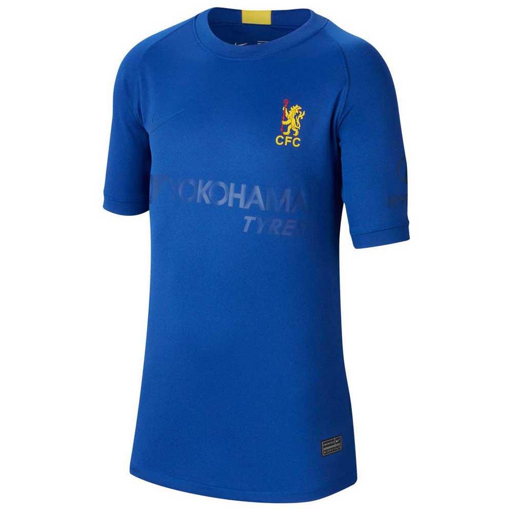 Nike T-shirt Chelsea Fc Breathe Stadium Cup 19/20 Junior M Rush Blue / Tour Yellow