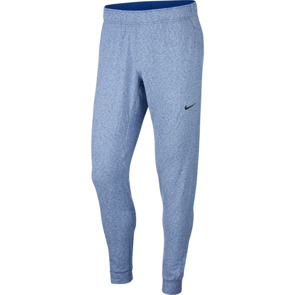 Nike Dri Fit Hyper Dry Yoga Shorts Regular S Deep Royal Blue / Heather / Black