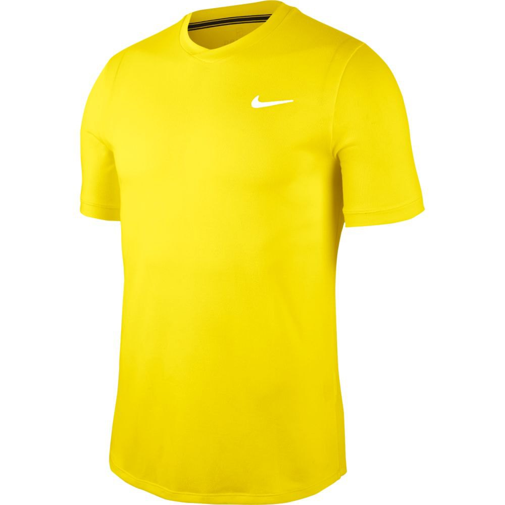 Nike Court Dri Fit Challenger XS Opti Yellow / White