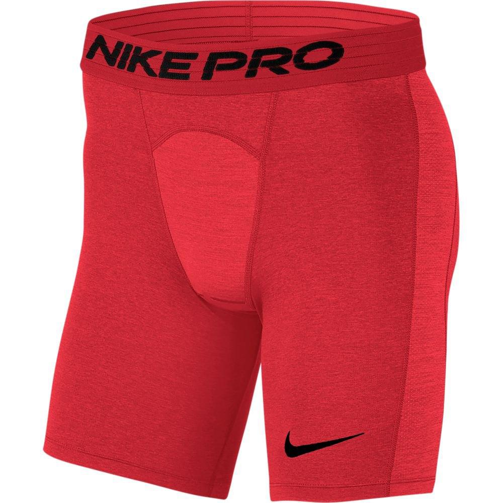 Nike Legging Courte Pro Shorts Tall M University Red / Black