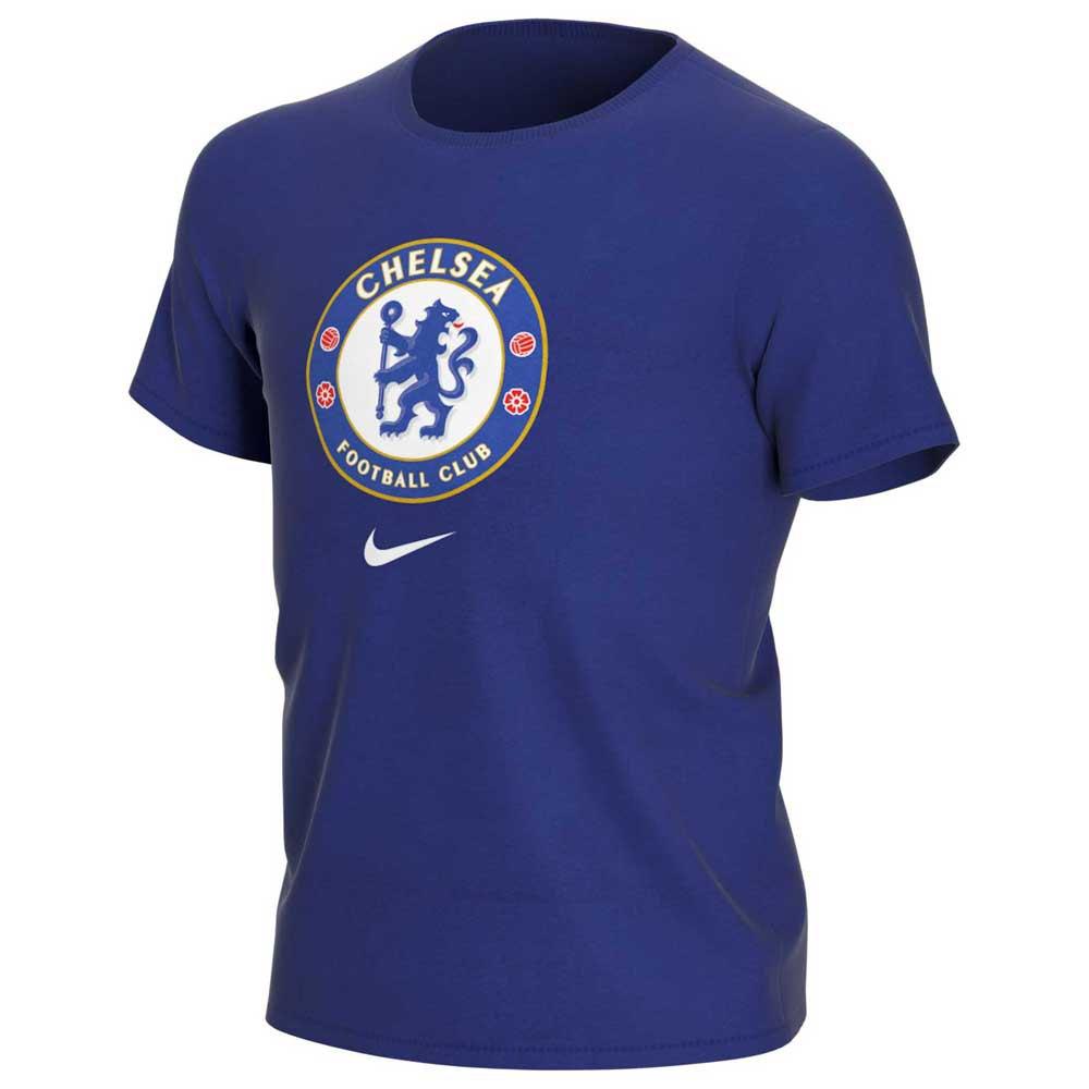 Nike Chelsea Fc Evergreen Crest 2 19/20 Junior S Rush Blue