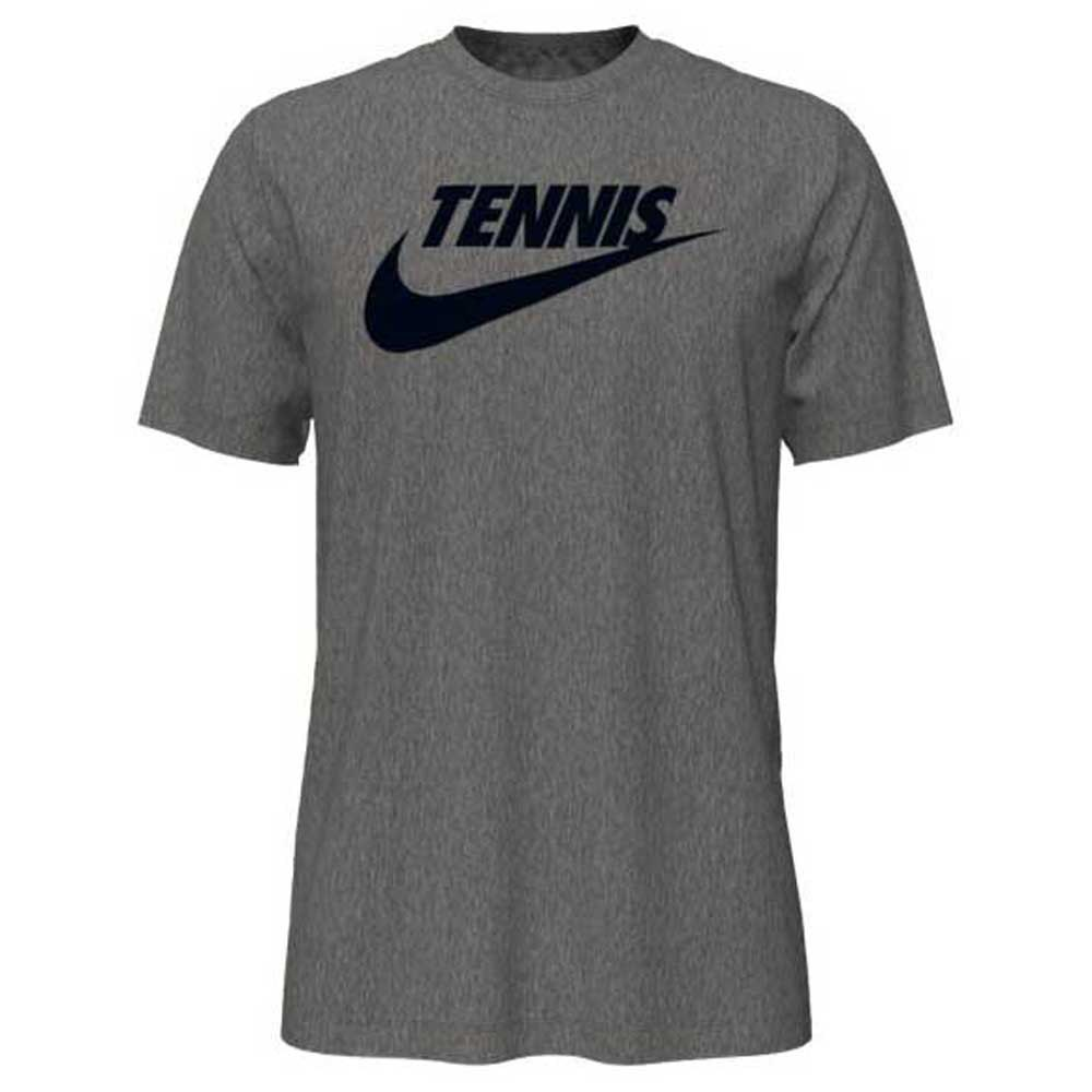 Nike Court Dri Fit Graphic XXL Dark Grey Heather / Black