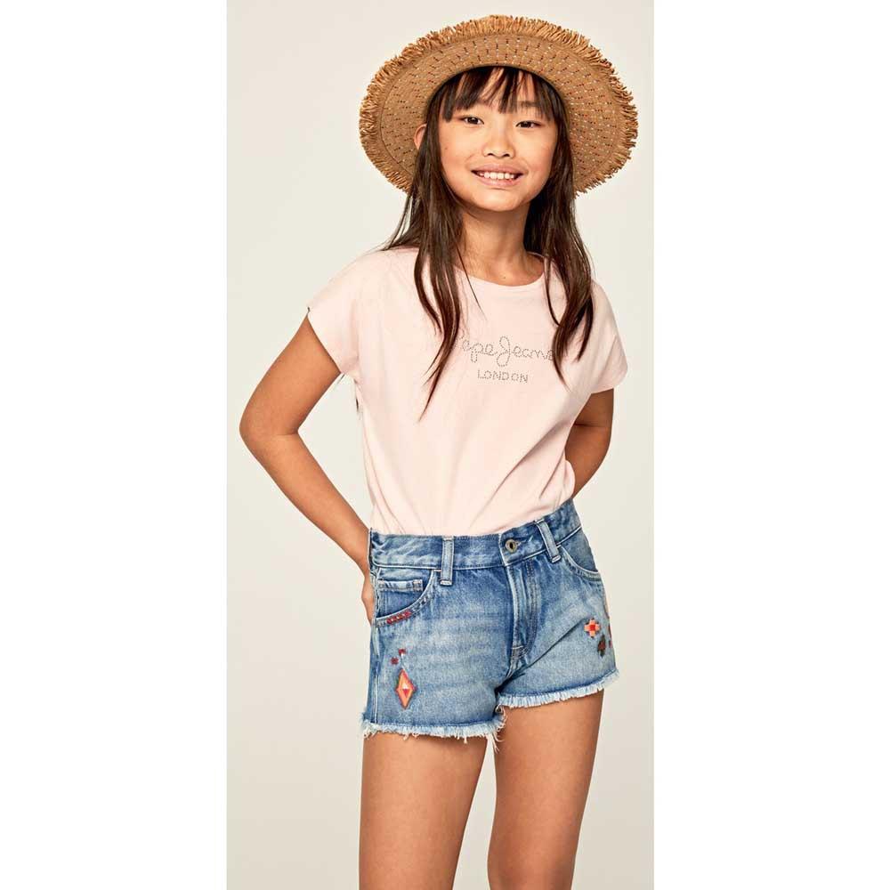 Pepe-Jeans-Nuria-Rosa-T42782-Camisetas-Mujer-Rosa-Camisetas-Pepe-jeans-moda miniatura 9