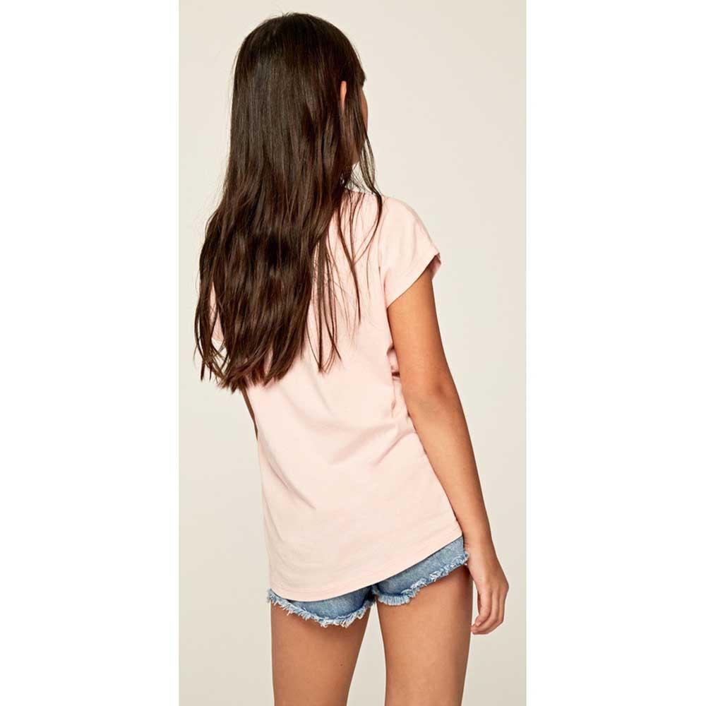 Pepe-Jeans-Nuria-Rosa-T42782-Camisetas-Mujer-Rosa-Camisetas-Pepe-jeans-moda miniatura 10
