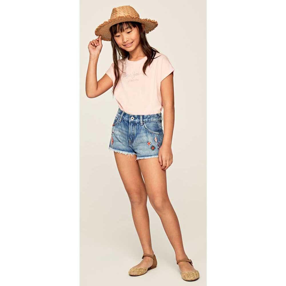 Pepe-Jeans-Nuria-Rosa-T42782-Camisetas-Mujer-Rosa-Camisetas-Pepe-jeans-moda miniatura 11