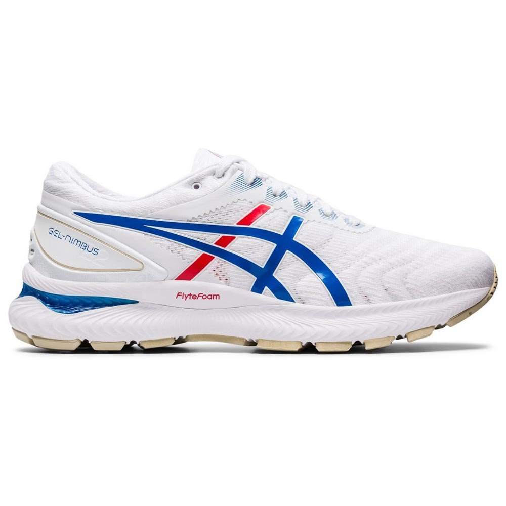 Asics Gel Nimbus 22 EU 45 White / Electric Blue