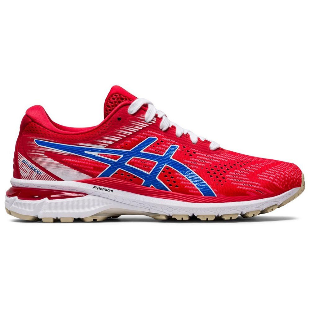 Asics Gt 2000 8 EU 43 1/2 Classic Red / Electric Blue