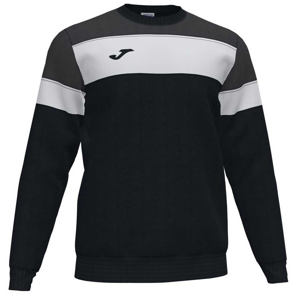 Joma Crew Iv Sweatshirt XL Black / Anthracite