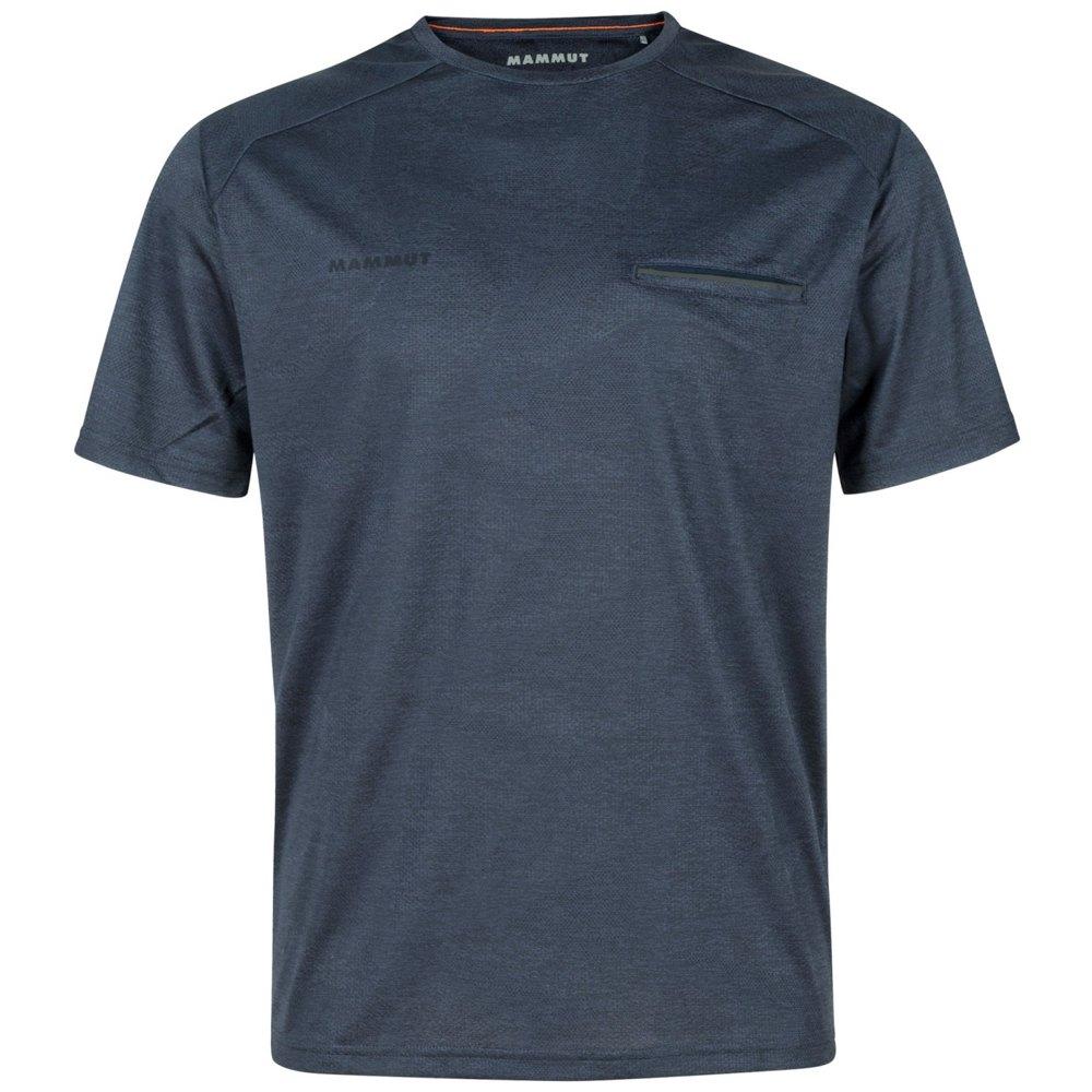Mammut T-shirt Manche Courte Crashiano XL Marine Melange