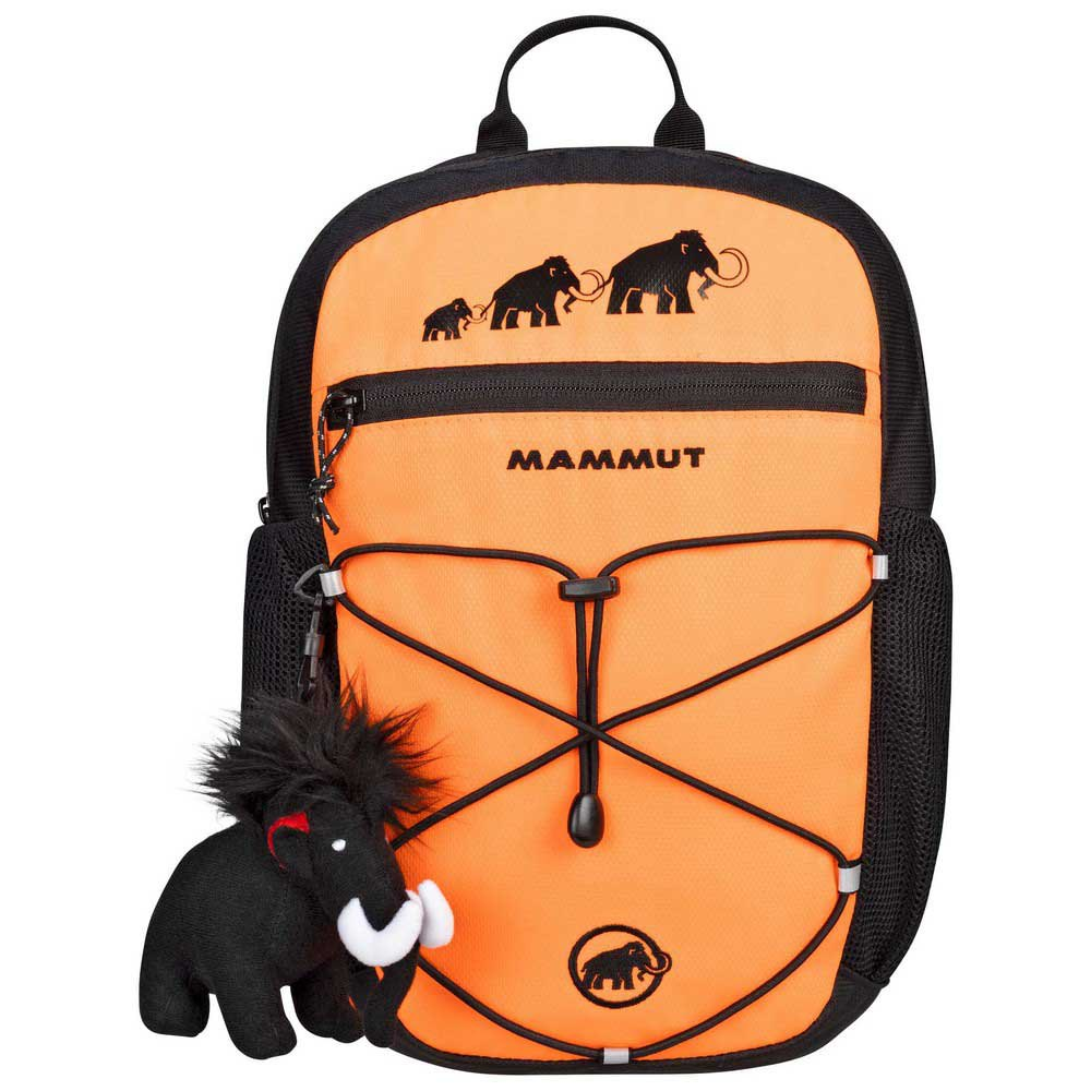 Mammut First Zip 4l Backpack One Size Safety Orange / Black