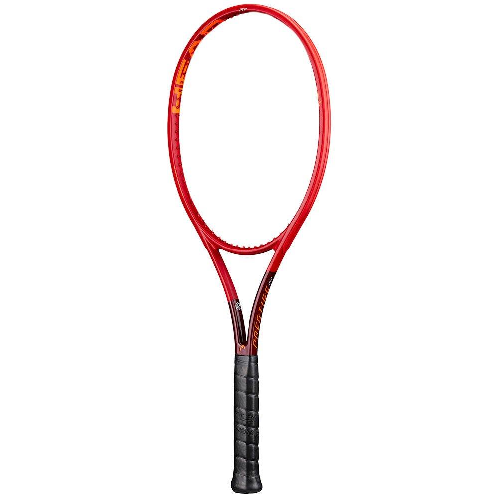 Head Racket Raquette Tennis Sans Cordage Graphene 360+ Prestige Mp 1 Red / Orange / Maroon