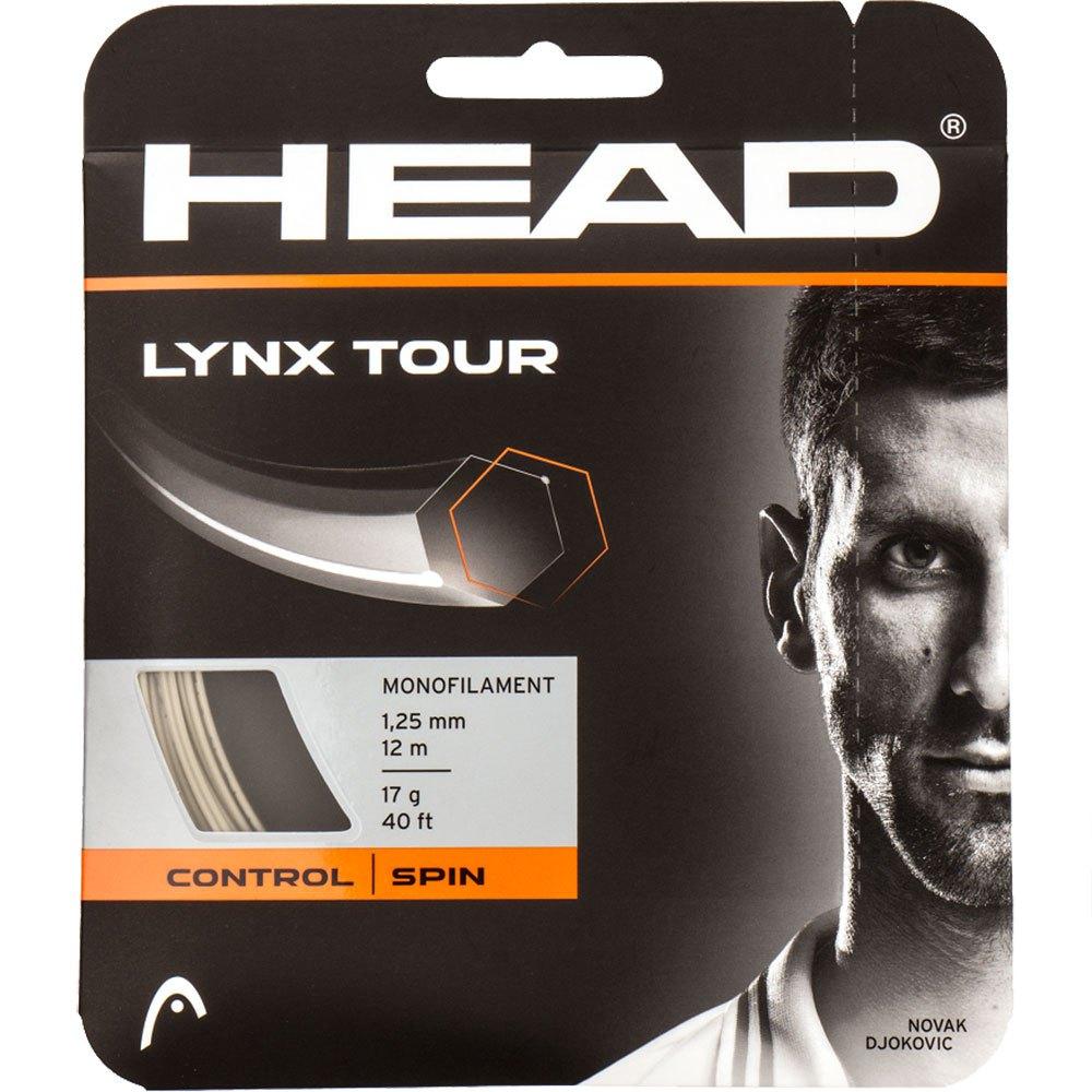Head Racket Cordage Unité Tennis Lynx Tour 12 M 1.30 mm