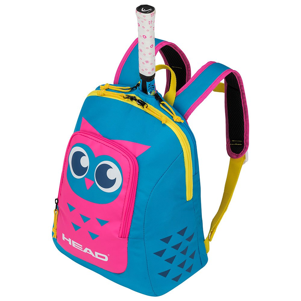 Head Racket Backpack Kid One Size Blue / Pink