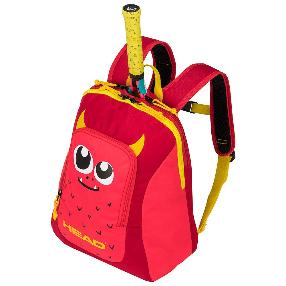 Head Racket Backpack Kid One Size Red / Yellow