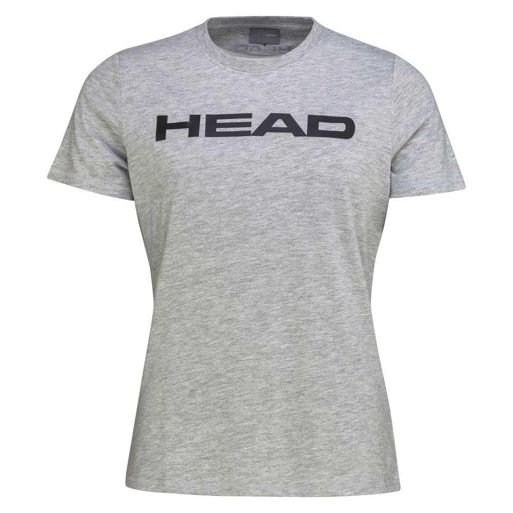 Head Racket T-shirt Manche Courte Club Lucy L Grey Melange / Black