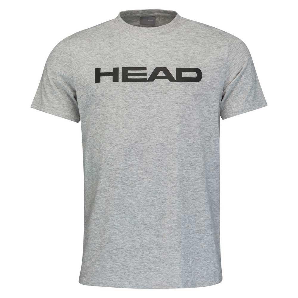 Head Racket T-shirt Manche Courte Club Ivan 128 cm Grey Melange / Black