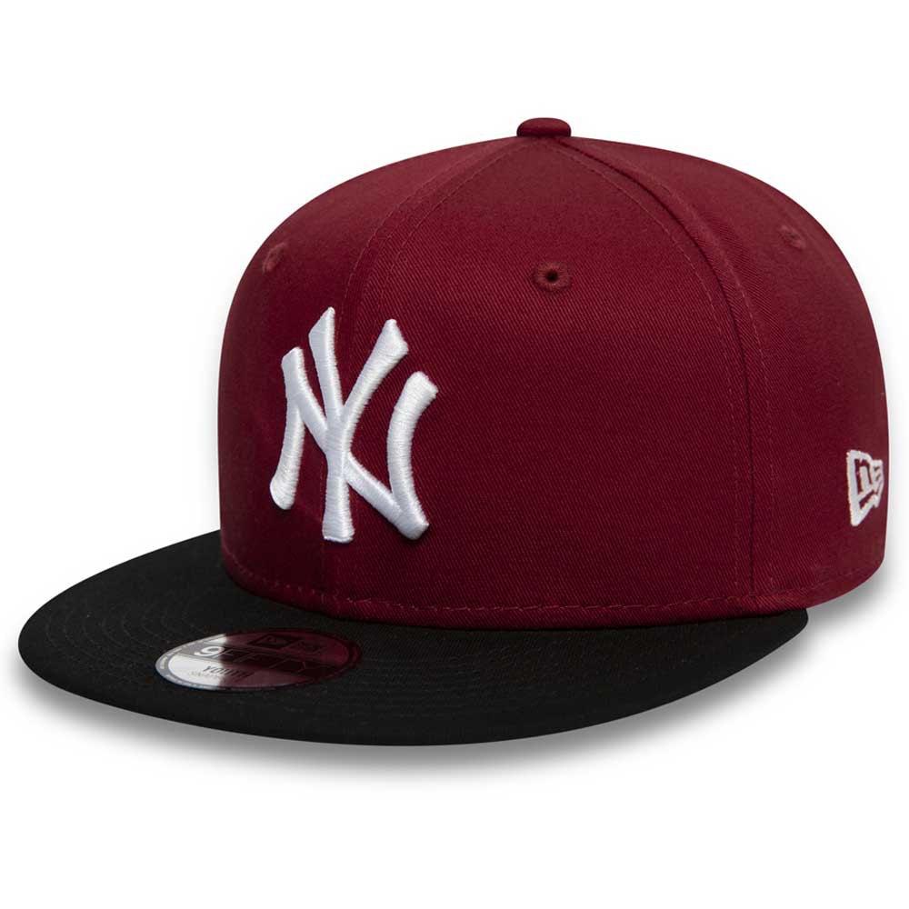 New Era Mlb New York Yankees Colour Block 9fifty 52-53 cm Dark Red