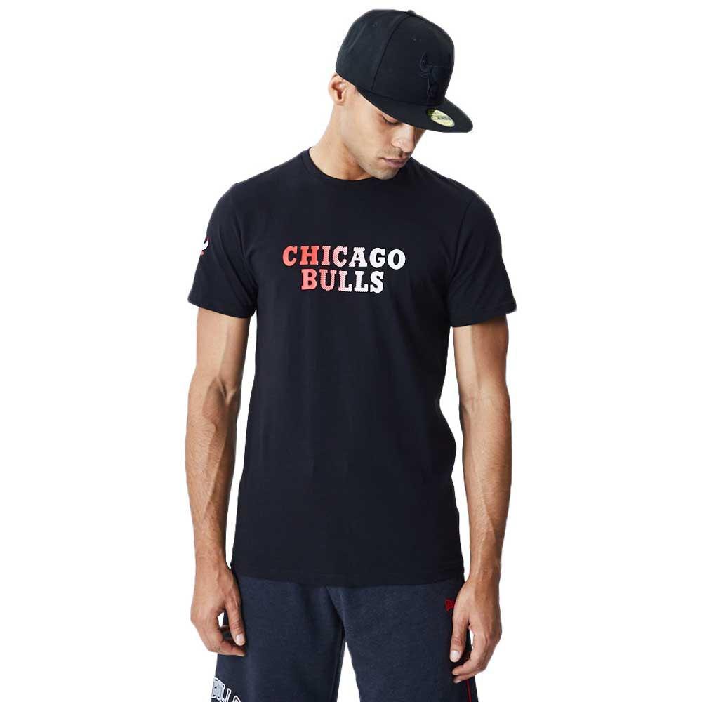 New Era Nba Chicago Bulls Gradient Wordmark XXL Black
