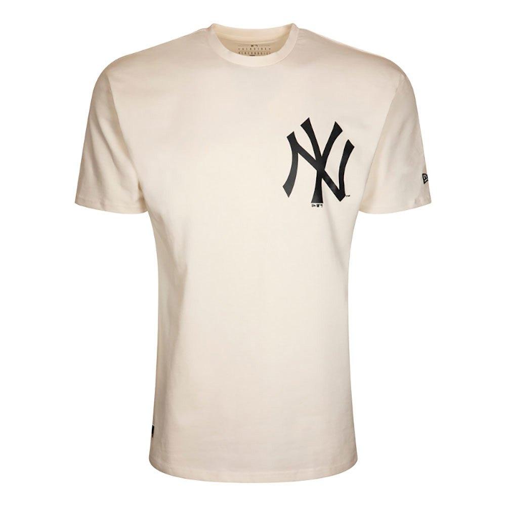 New Era Mlb New York Yankees Big Logo Oversized M White