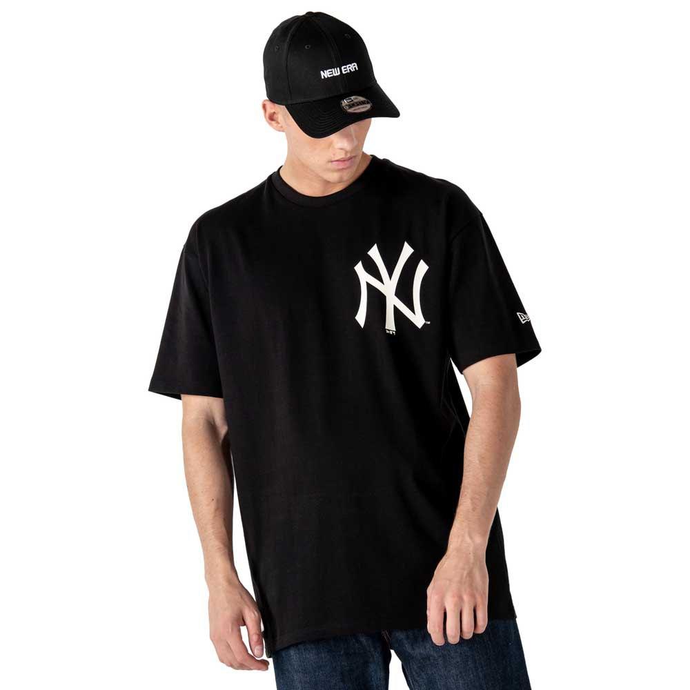 New Era Mlb New York Yankees Big Logo Oversized L Black