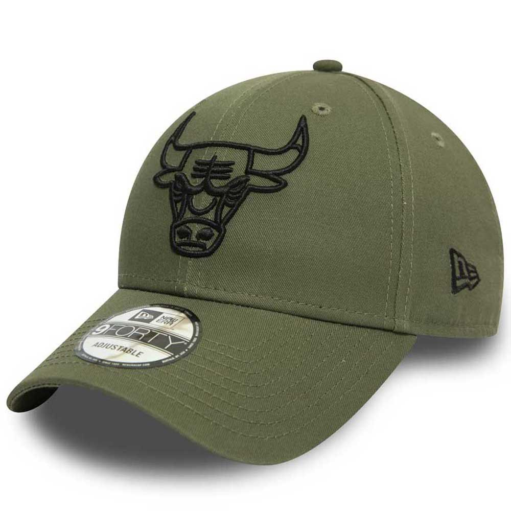 New Era Casquette Nba Chicago Bulls Essential Outline 9forty One Size Green Med