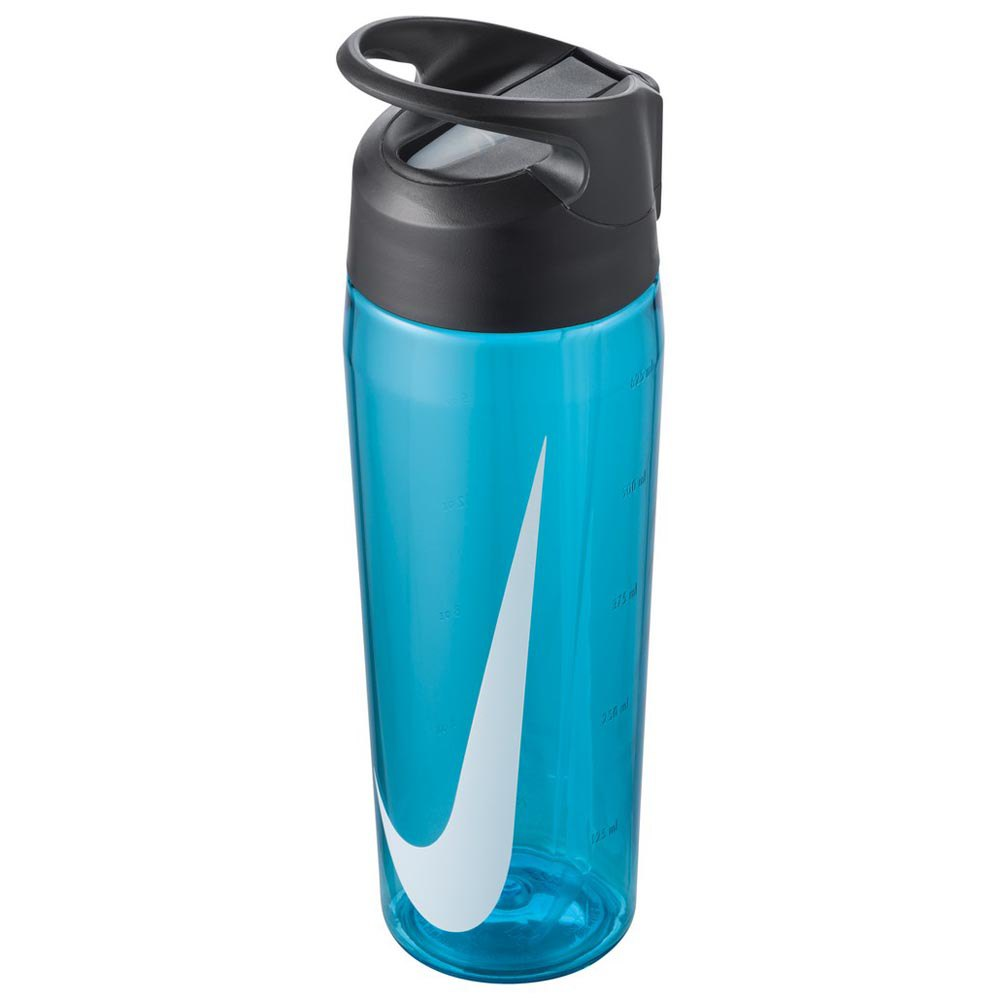 Nike Accessories Tr Hypercharge Straw 710ml One Size Blue Fury / Anthracite