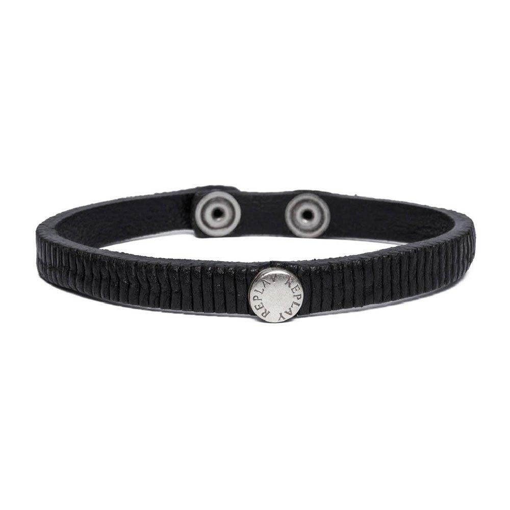Replay Am7052 Bracelet One Size Black