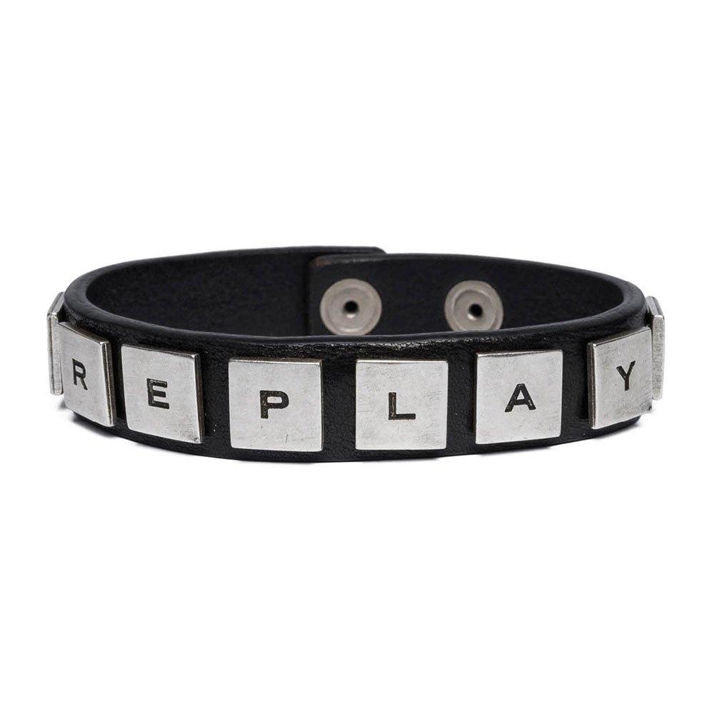 Replay Ax7098 Bracelet One Size Black