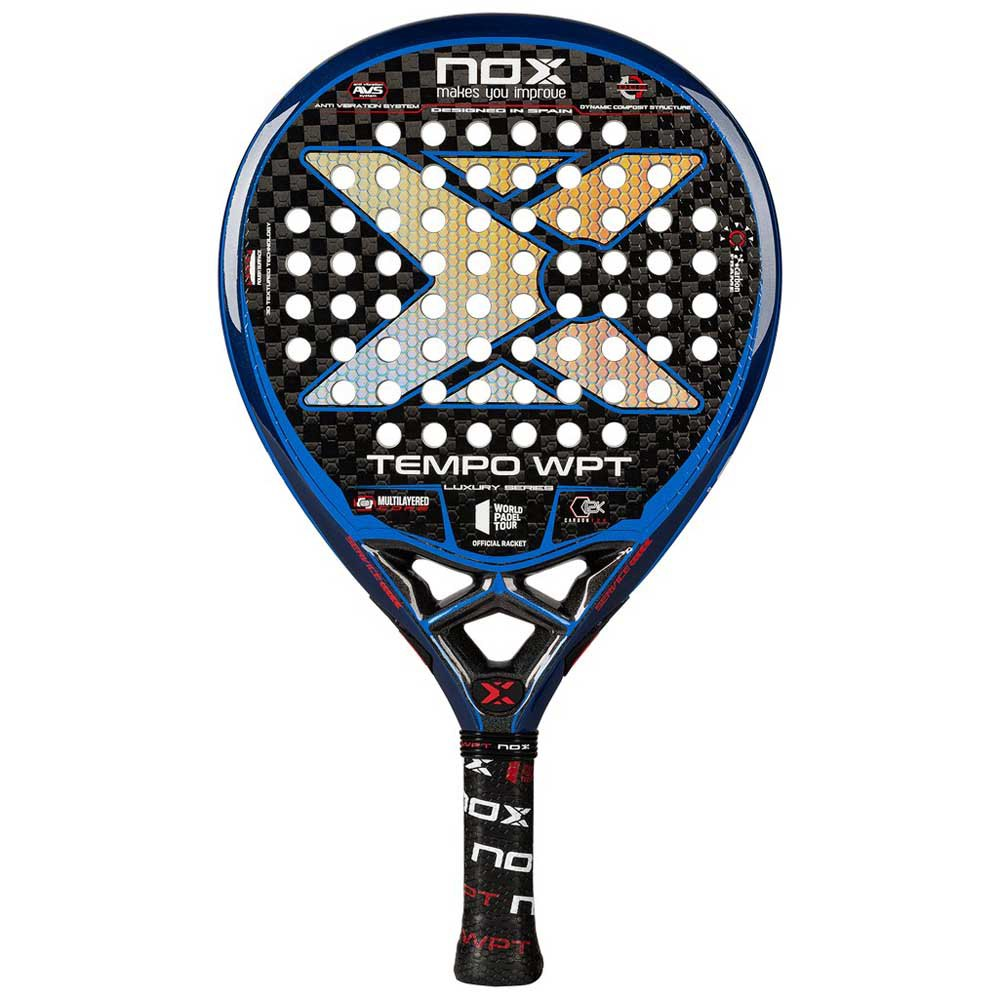 Nox Tempo Wpt Luxury Series One Size Black / Blue