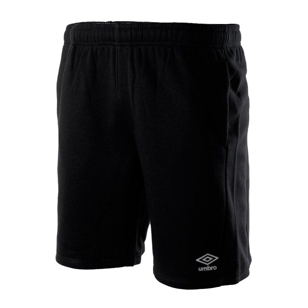 Umbro Short Knee Length Fleece S Black