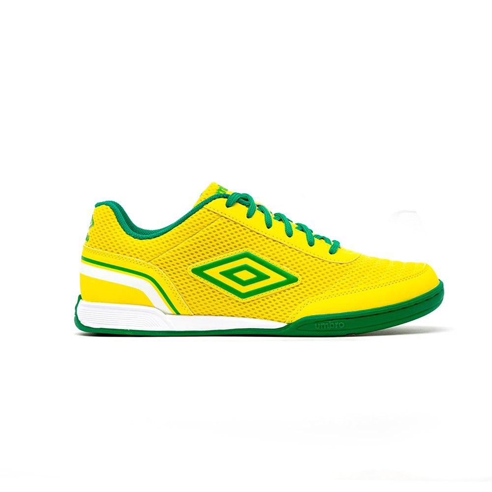 Umbro Chaussures Football Salle Street V In EU 27 1/2 Golden Kiwi / Fern Green / White