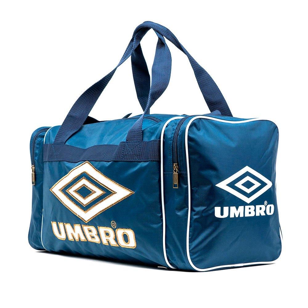 Umbro Retro Holdall S S Blue / White / Bronze