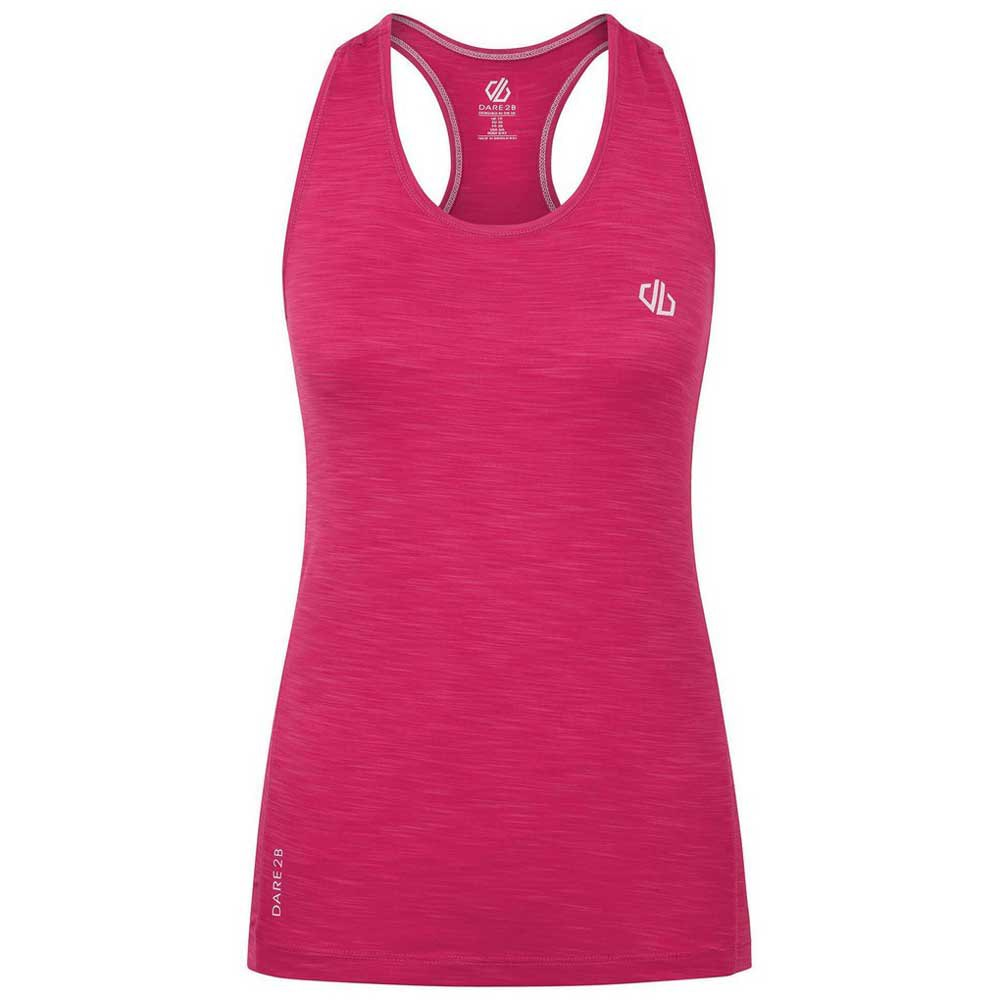 Dare2b T-shirt Sans Manches Modernize Ii 16 Active Pink
