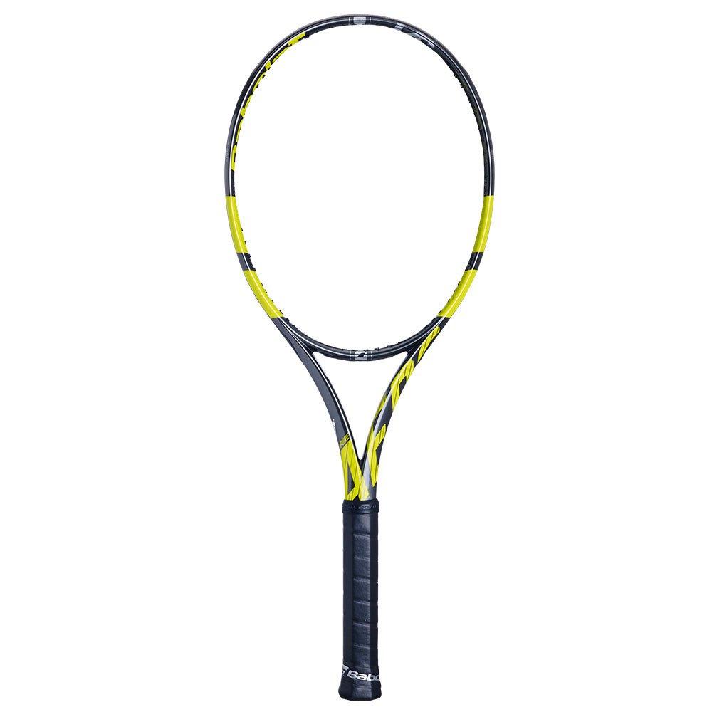 Babolat Pure Aero Vs Unstrung Tennis Racket 1 Chrome Yellow