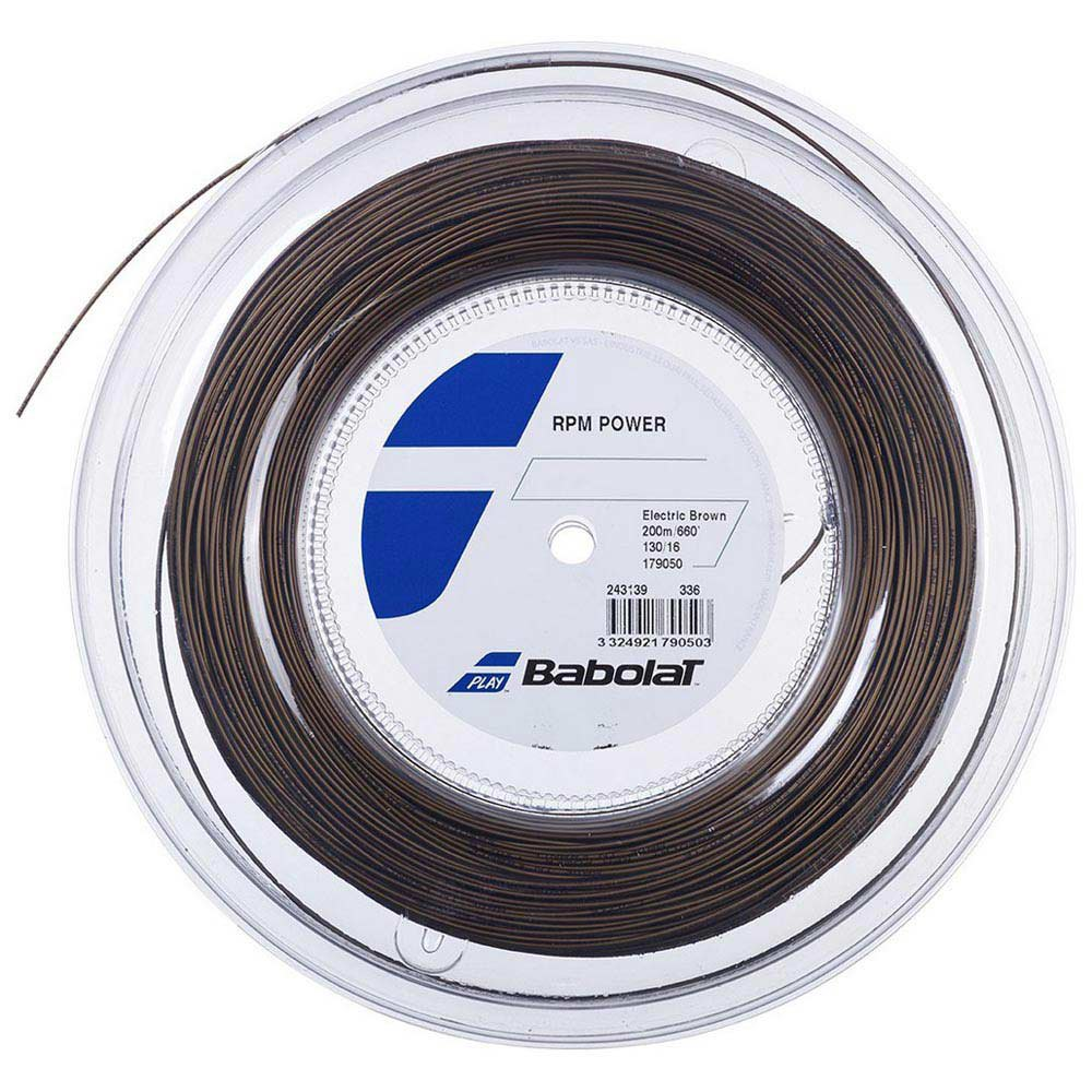 Babolat Rpm Power 200 M 1.25 mm Electric Brown