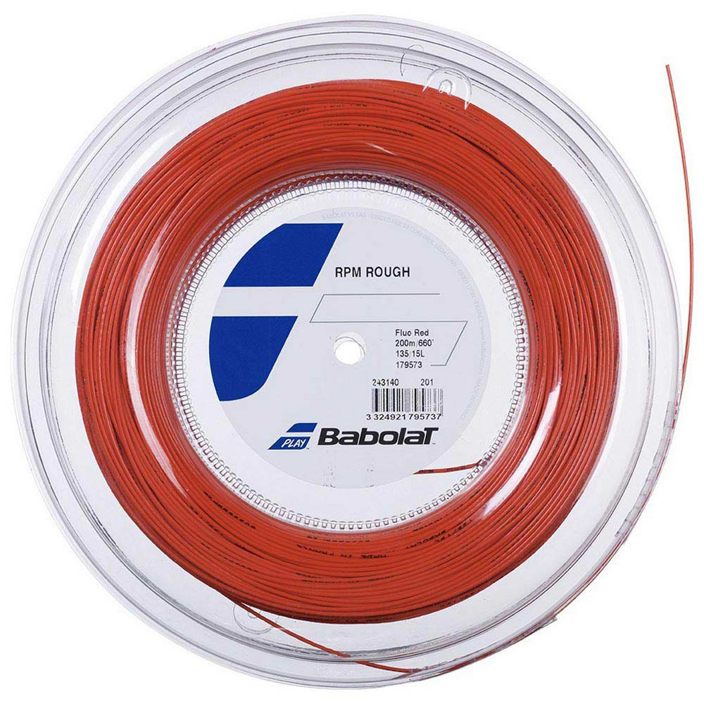 Babolat Rpm Rough 200 M 1.25 mm Red Fluo