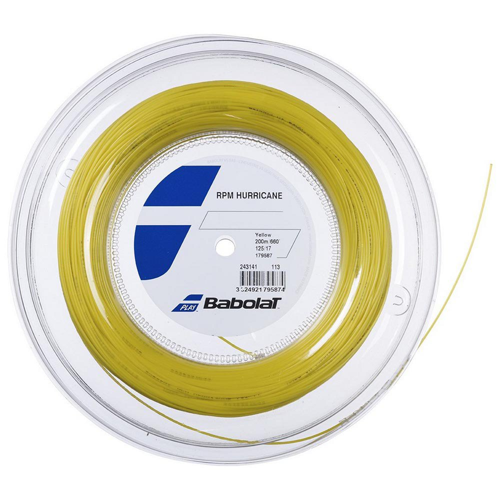 Babolat Rpm Hurricane 200 M 1.25 mm Yellow