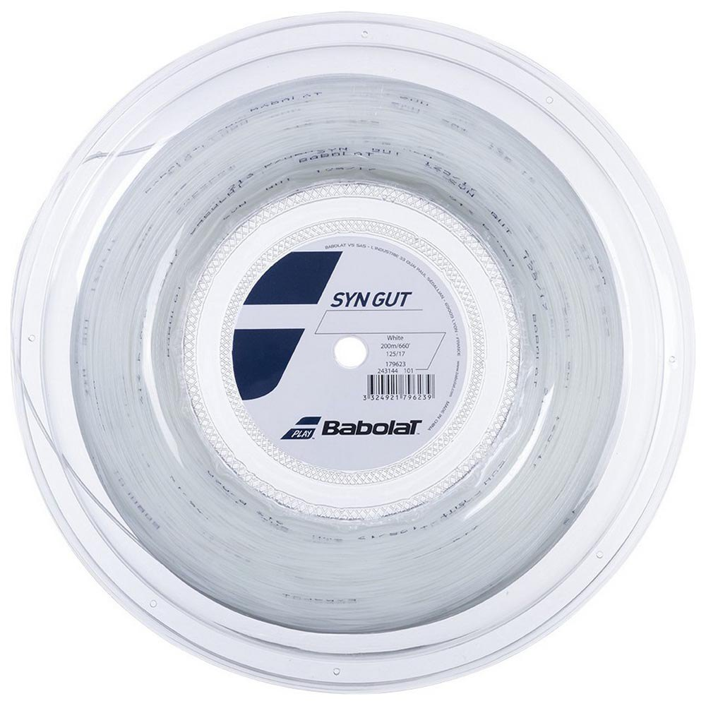 Babolat Synthetic Gut 200 M 1.25 mm White